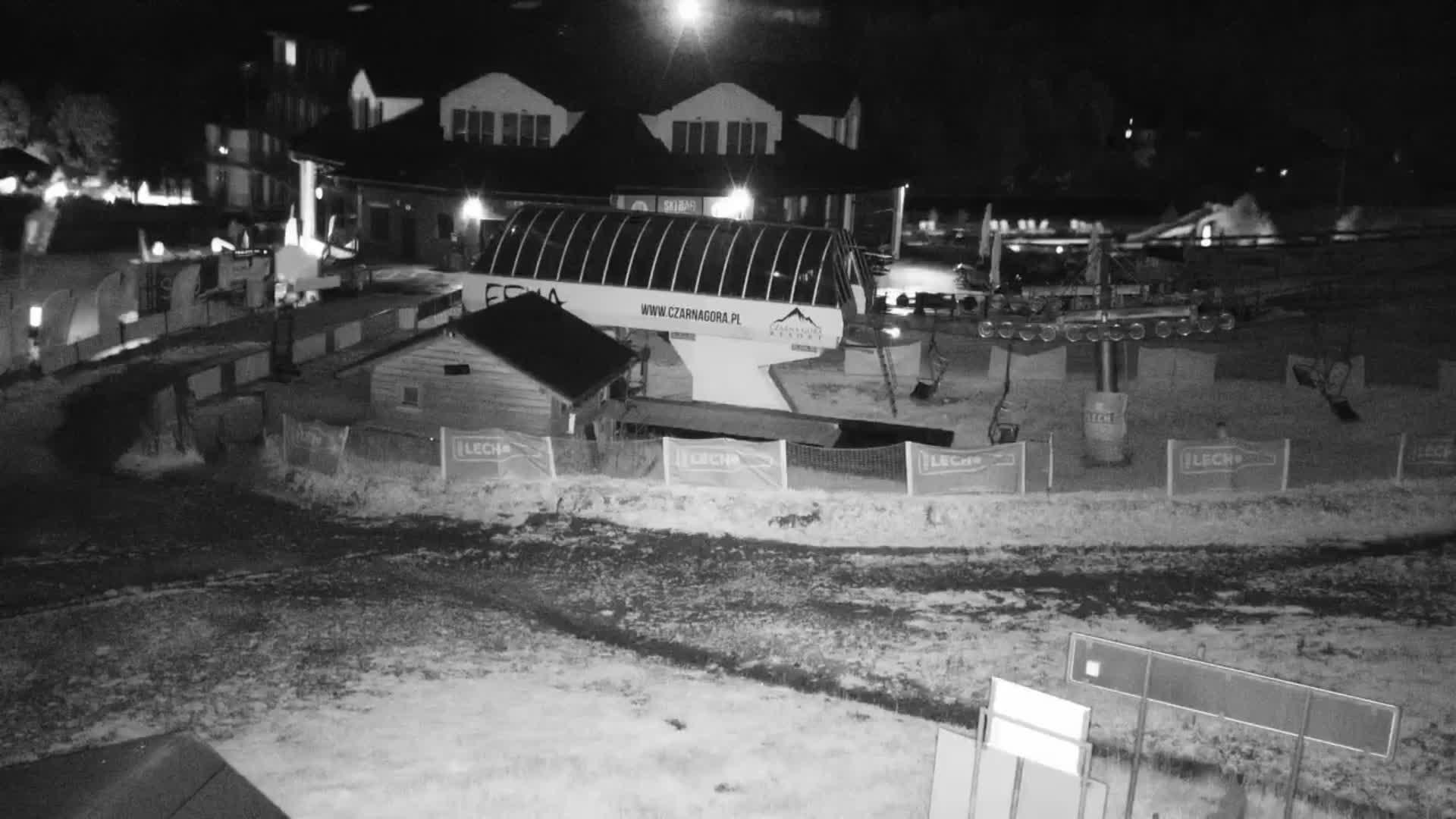 Webcam Skigebiet Czarna Gora cam 4 - Glatzer Schneegebirge