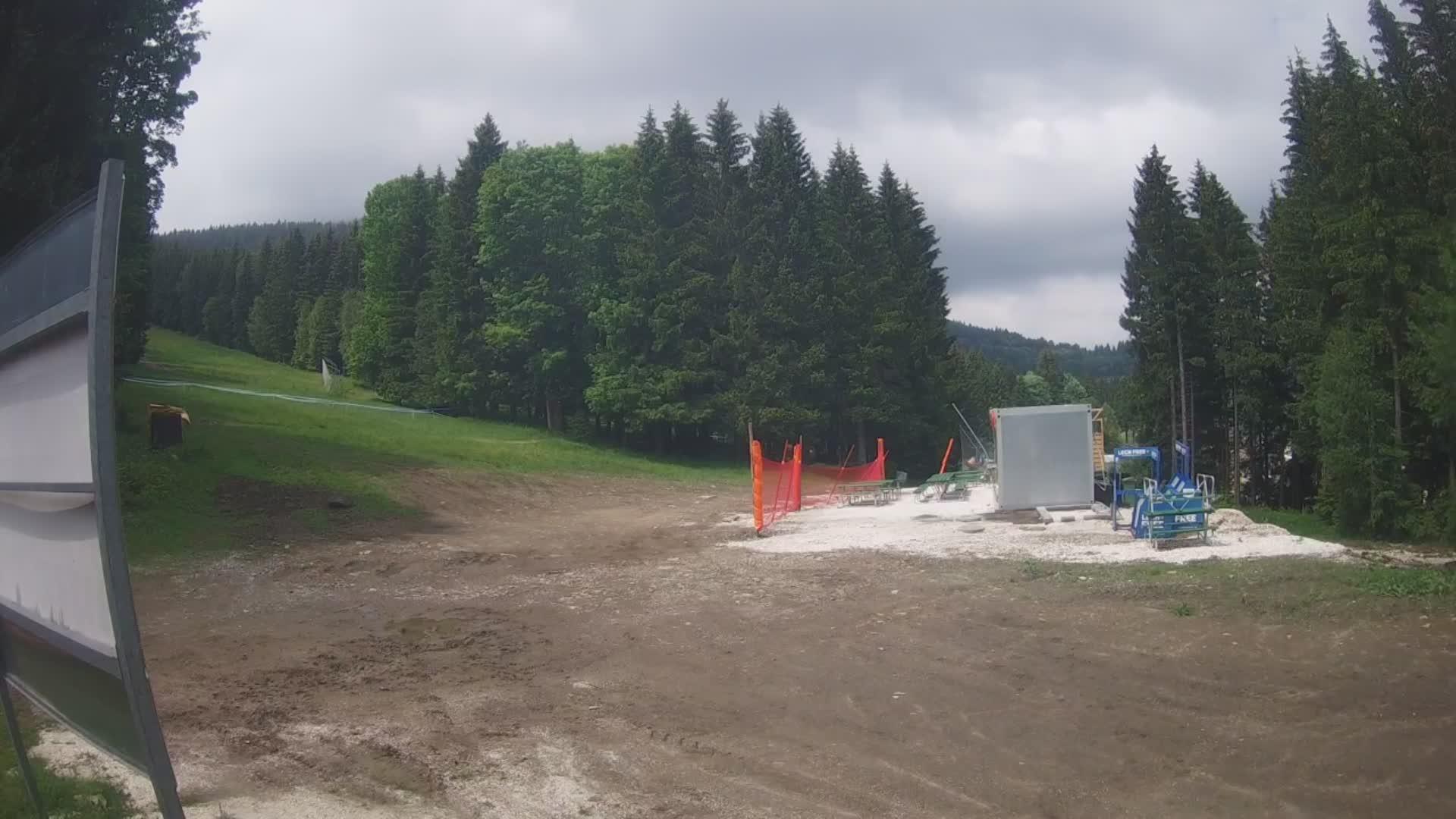 Webcam Skigebiet Czarna Gora cam 5 - Glatzer Schneegebirge