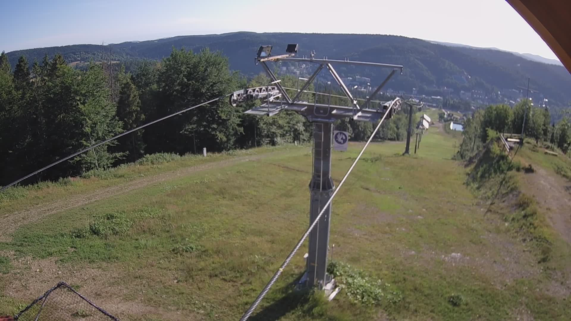 Krynica-Zdrój Henryk Ski Stacja górna