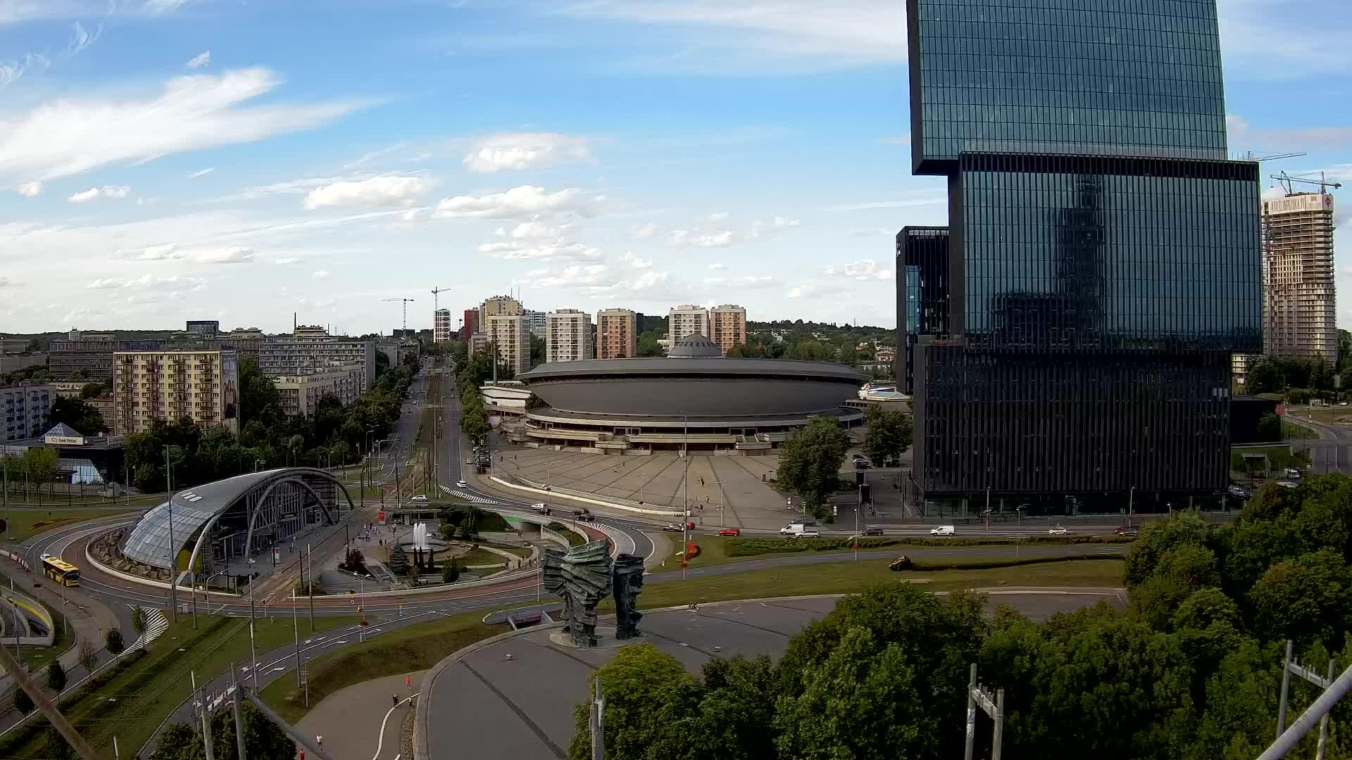 Widok z Hotelu Katowice