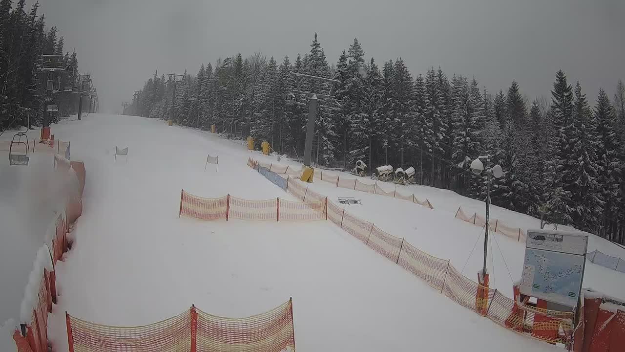 Webcam Ski Resort Karpacz Koppenlift Tal - Giant Mountains