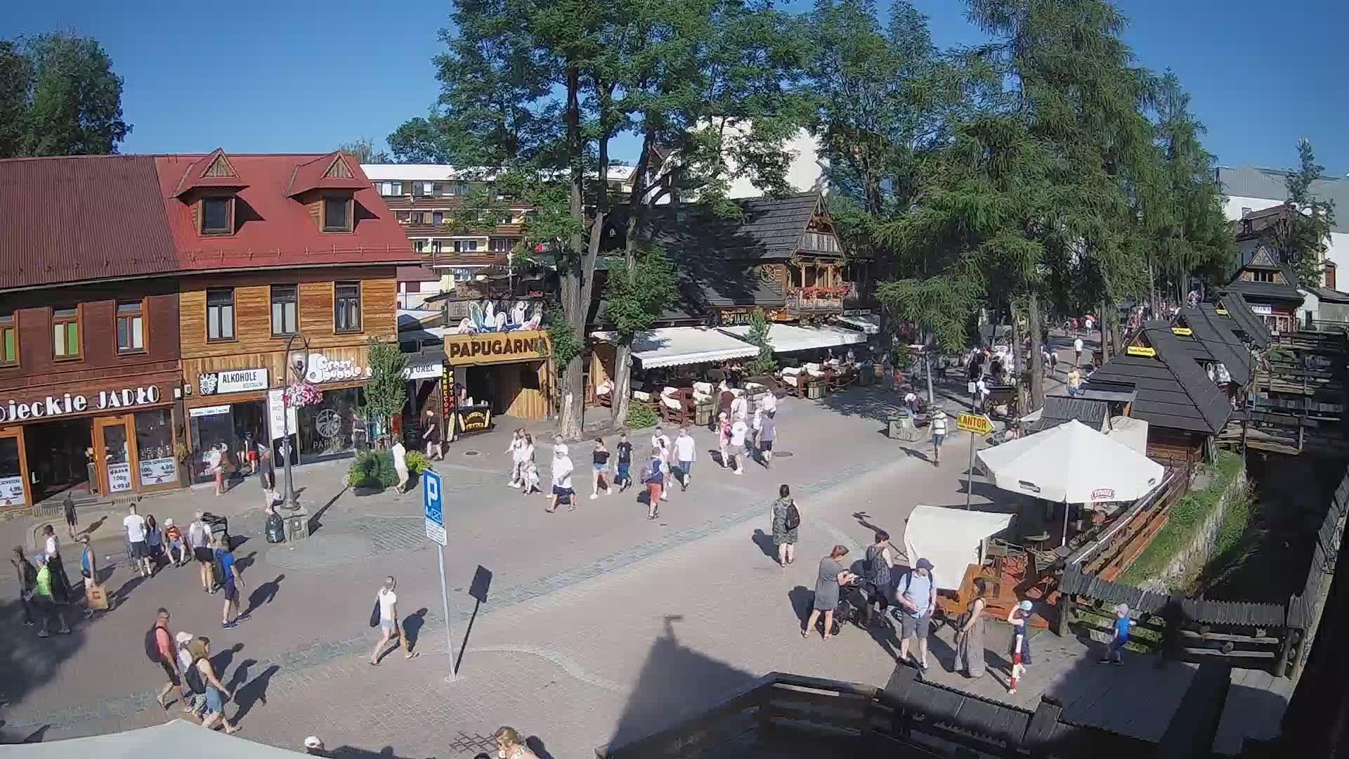 Webcam Ski Resort Zakopane Ort - High Tatras