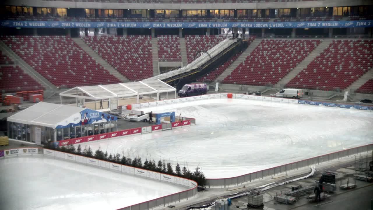 Stadion Narodowy - Lodowisko