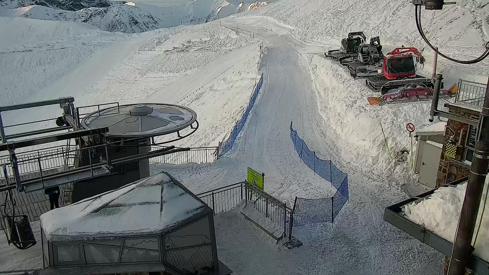 Zakopane webcam - Kasprowy Wierch panorama