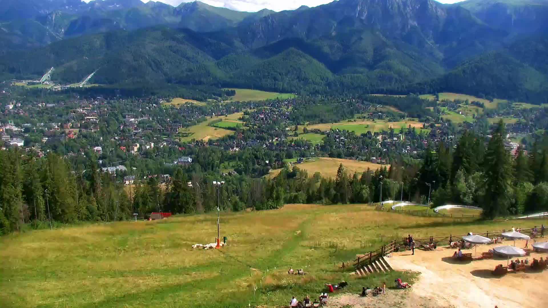 Webcam Skigebiet Zakopane Gubalowka - Hohe Tatra