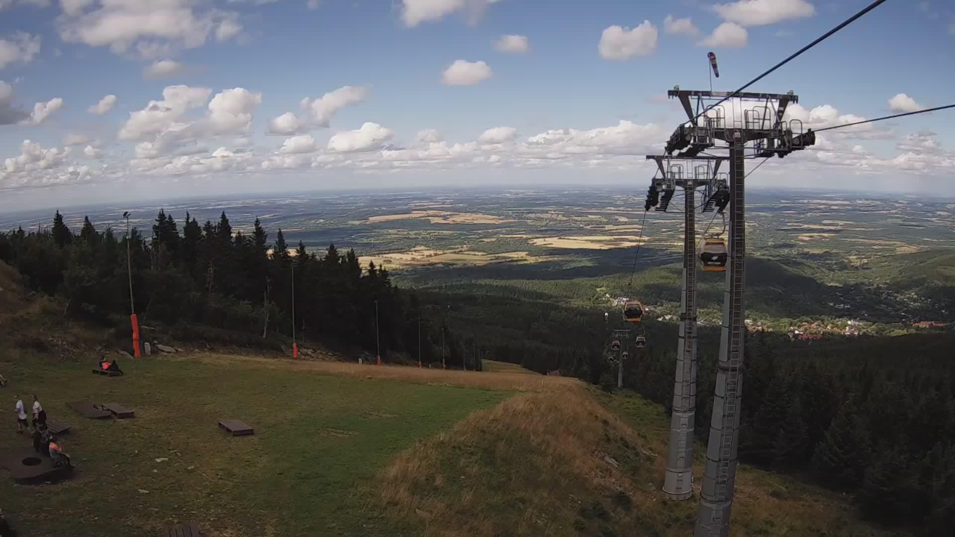 Webcam Skigebied Swieradow Zdroj cam 2 - IJzergebergte