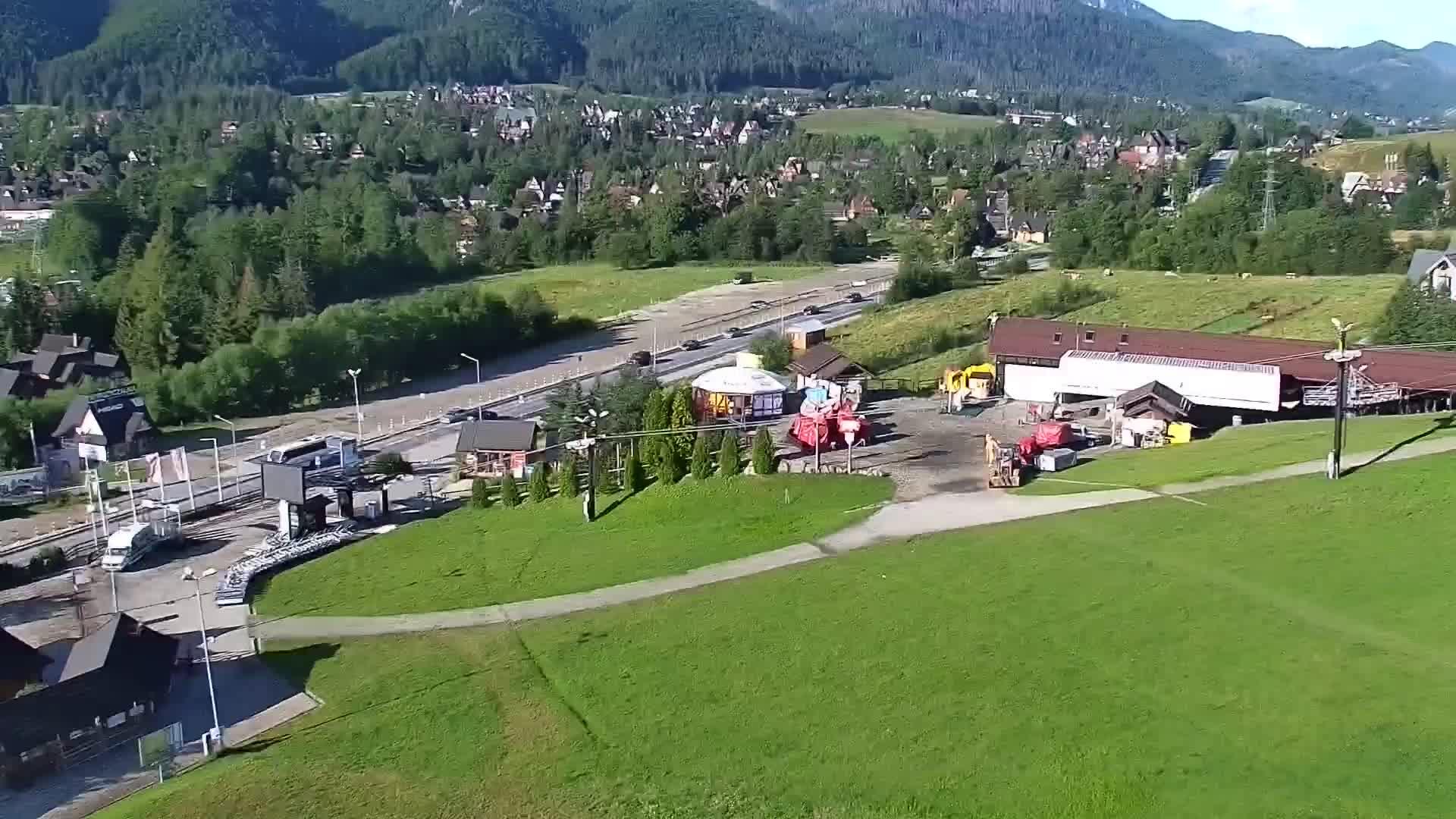 Webcam Skigebied Zakopane Szymoszkowa - Hoge Tatra