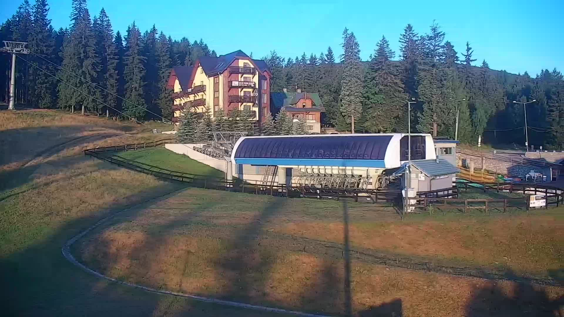 Webcam Ski Resort Szklarska Poreba cam 2 - Giant Mountains