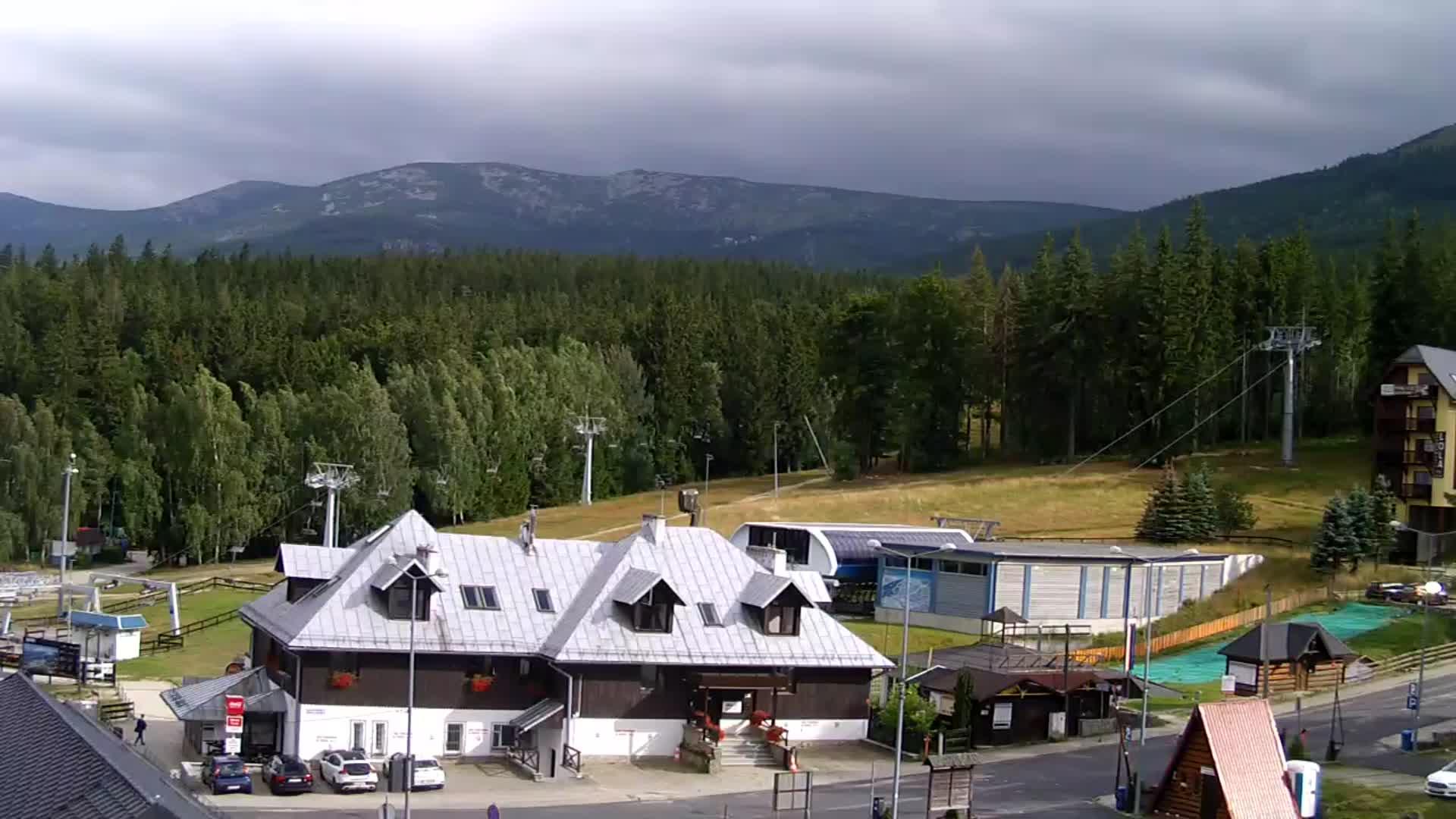 Webcam Skigebied Szklarska Poreba Talstation - Reuzengebergte