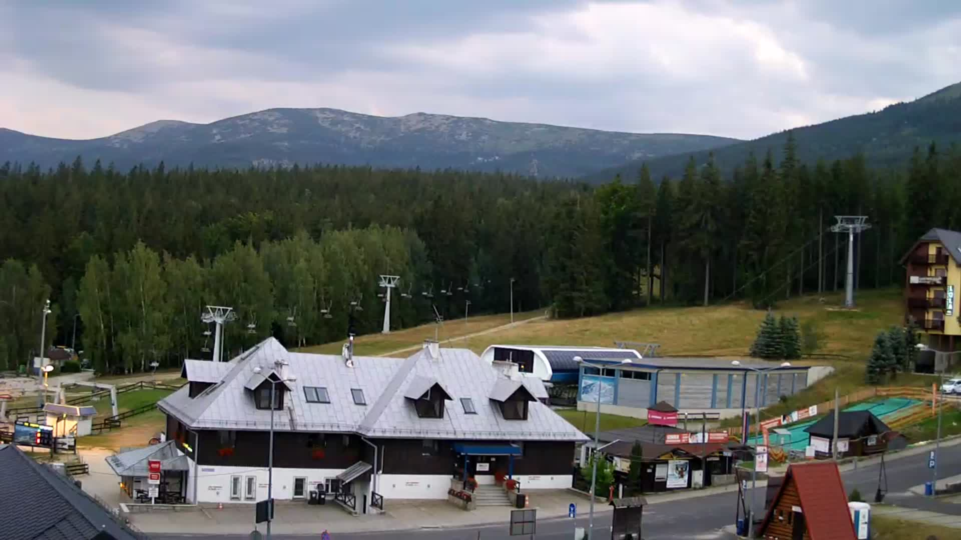 Webcam Ski Resort Szklarska Poreba Talstation - Giant Mountains
