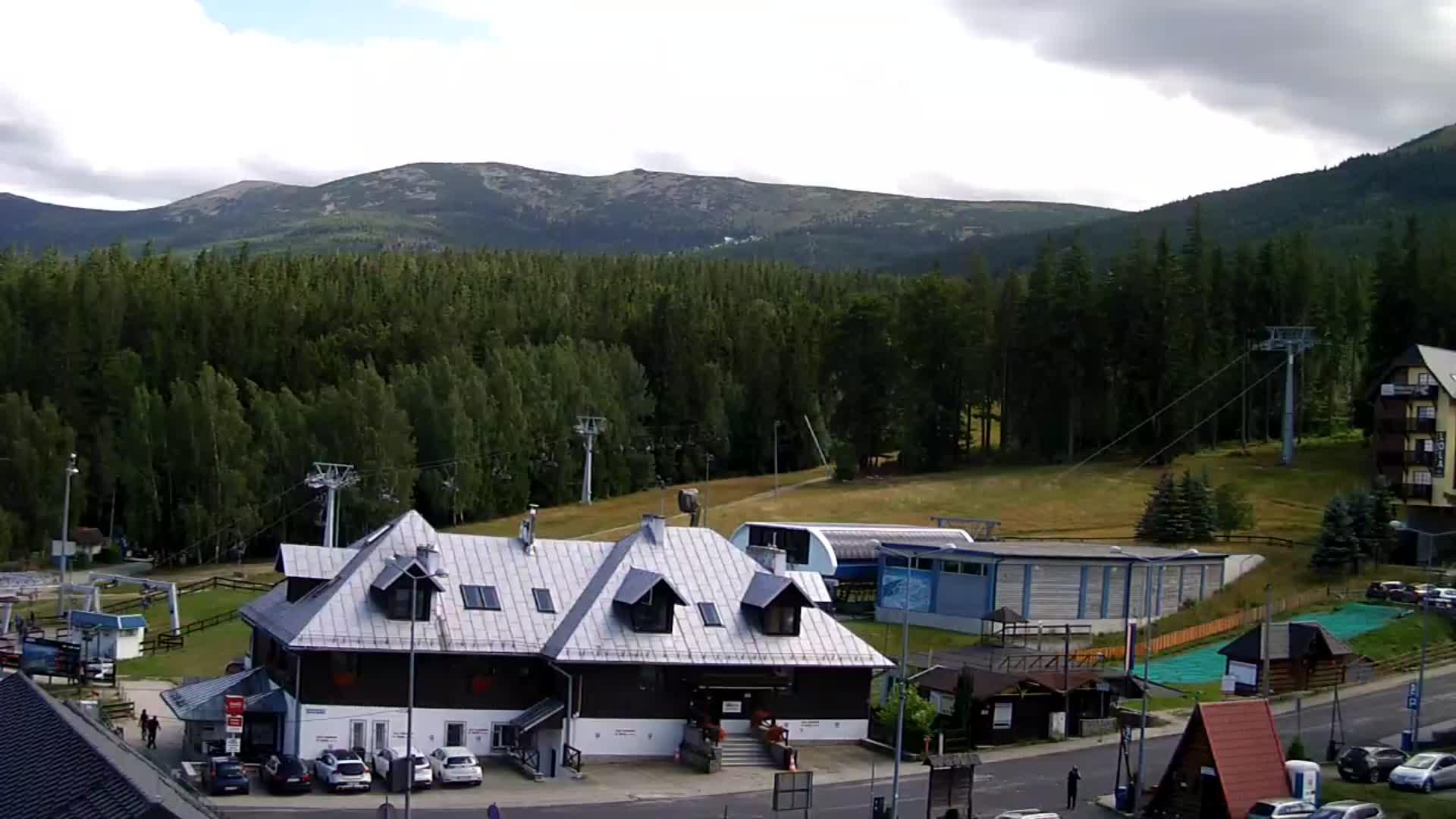 Webcam Ski Resort Szklarska Poreba Talstation - Giant Mountains