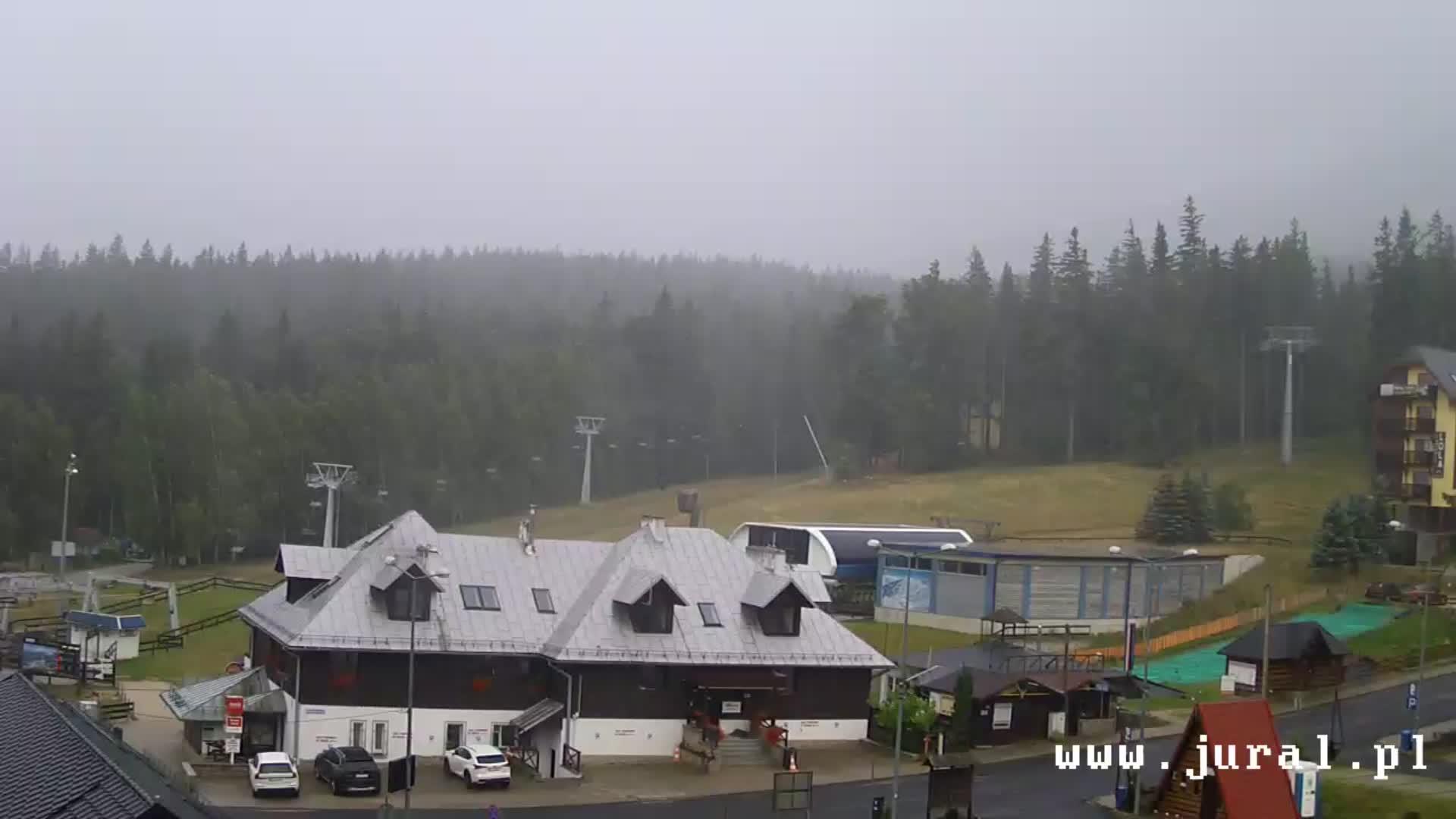 Webcam Skigebiet Szklarska Poreba Talstation - Riesengebirge