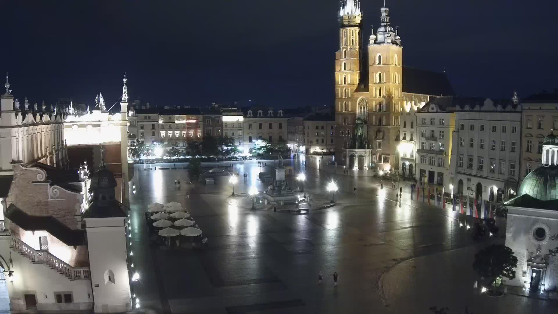 Rynek Główny z Hotelu Wentzl