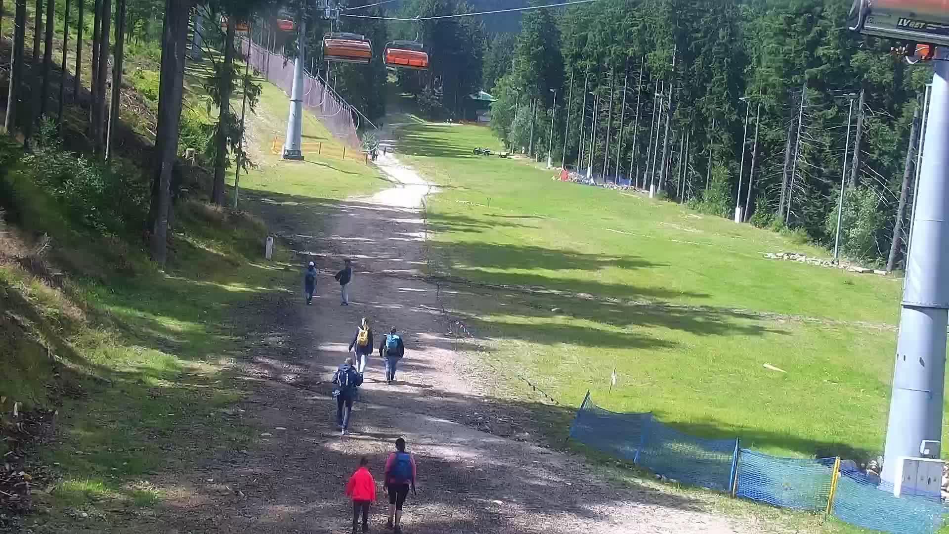 Webcam Skigebied Karpacz Bialy Jar Tal - Reuzengebergte