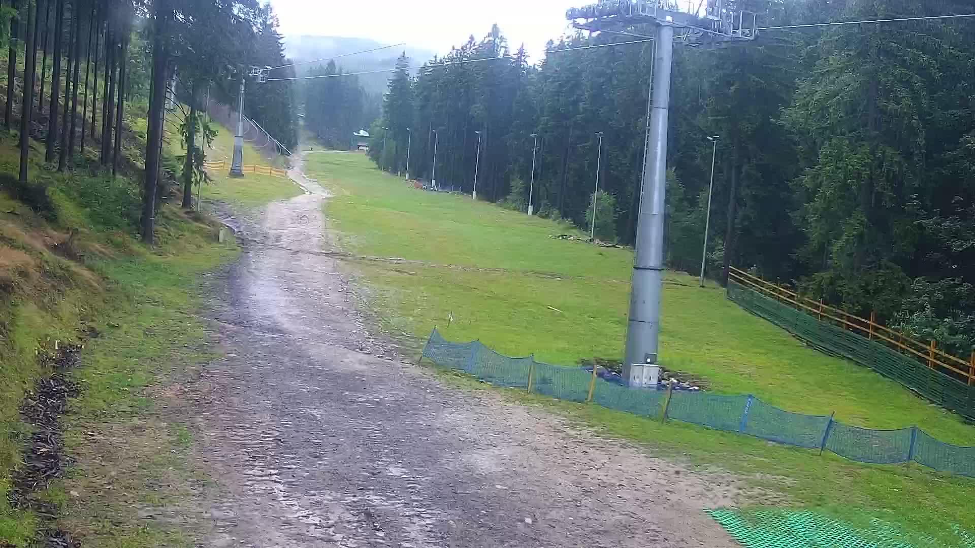 Webcam Ski Resort Karpacz Bialy Jar Tal - Giant Mountains
