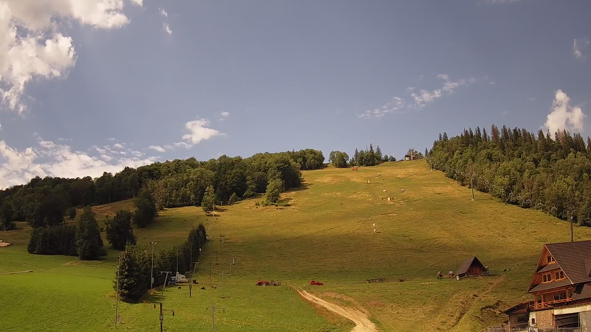 Zakopane webcam - Harenda bottom ski station