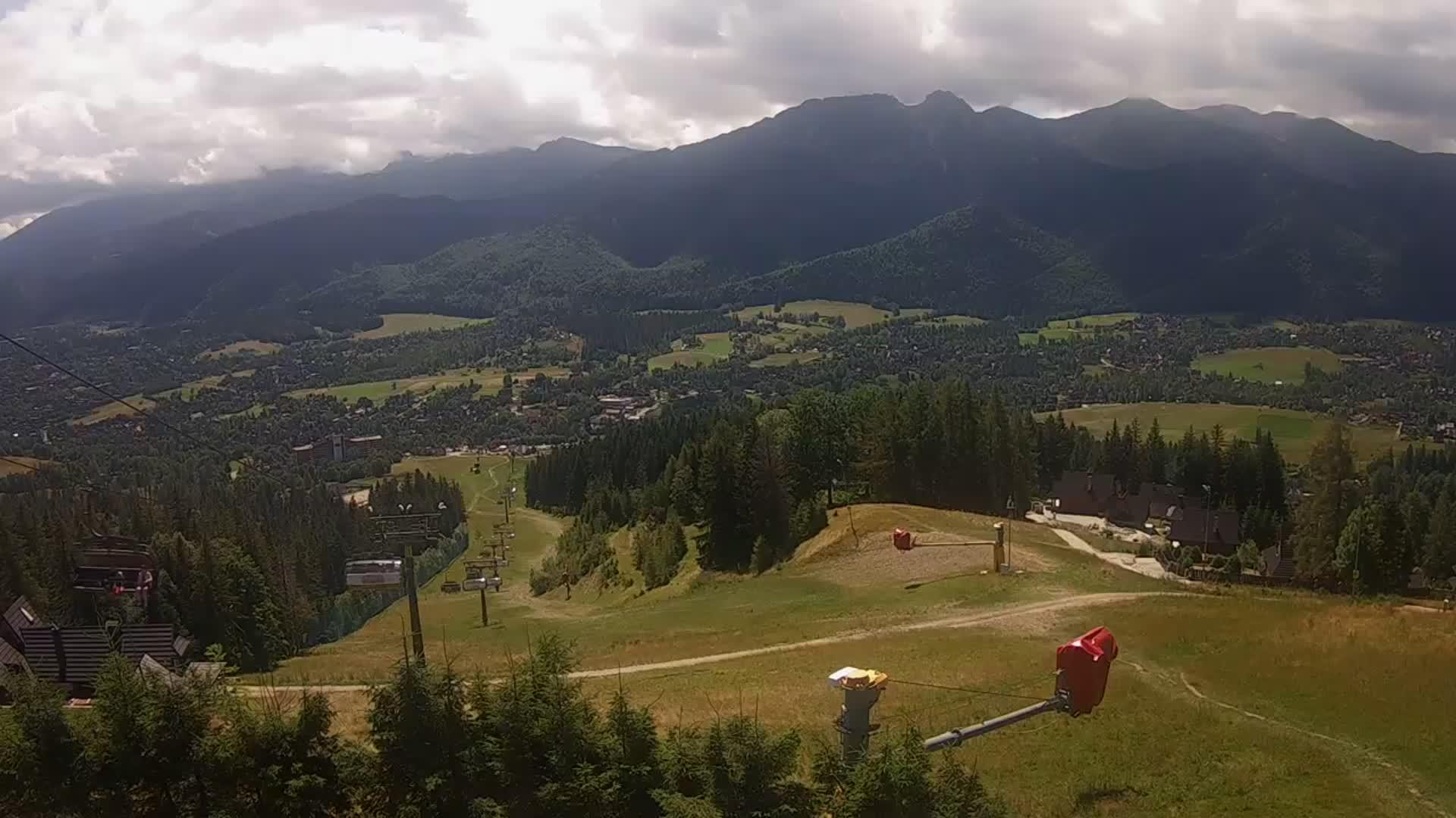 Zakopane webcam - Szymoszkowa Ski Station 2