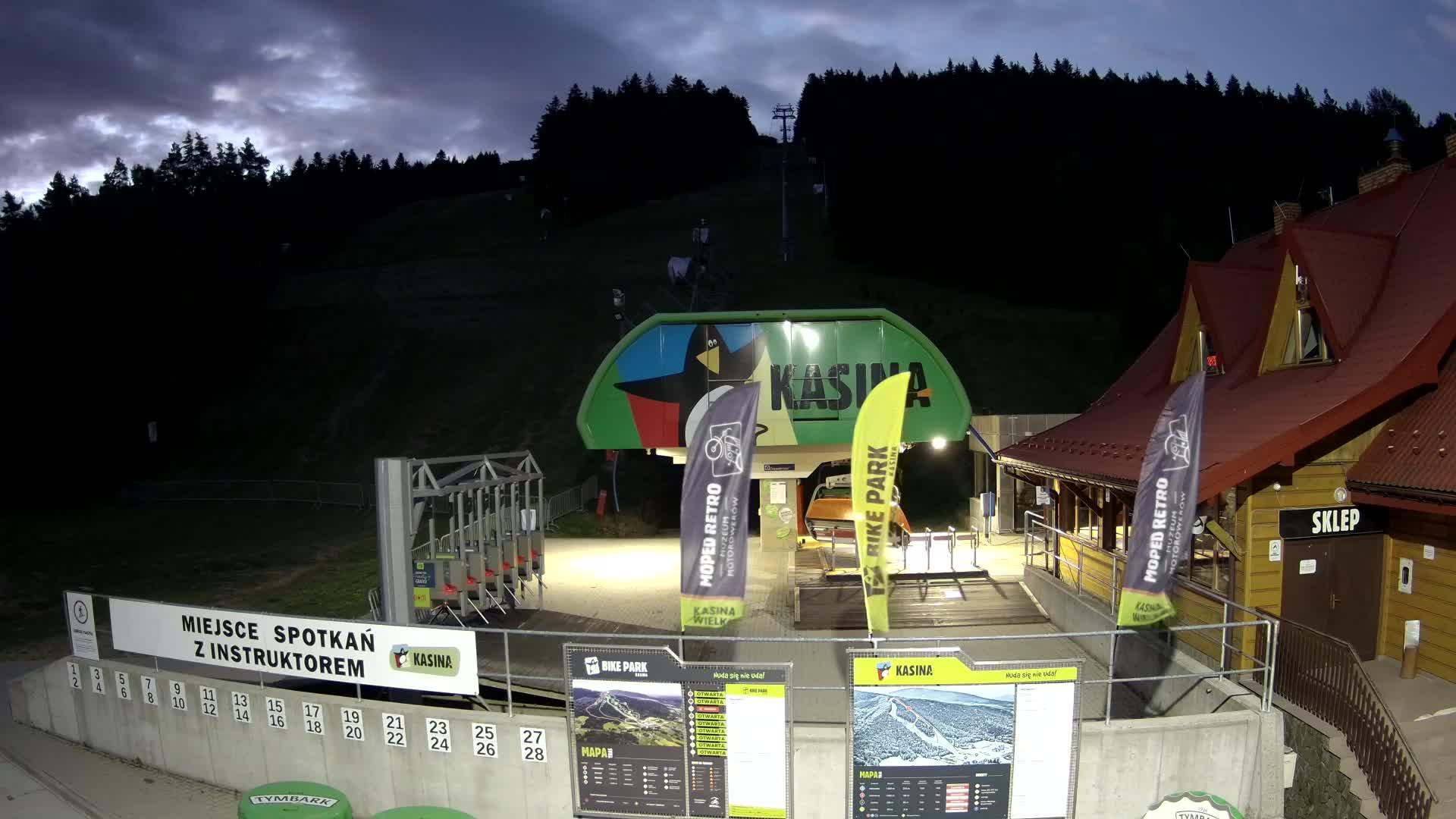 Kasina Wielka Kasina SKI Dolna stacja